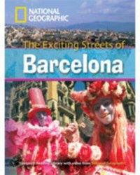 Footprint Reading Library 2600 C1 Exciting Streets of Barcelona with Multi-ROM