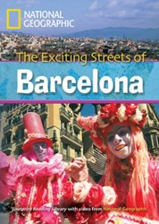 Footprint Reading Library 2600 C1 Exciting Streets of Barcelona,The