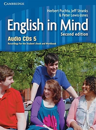 English in Mind 5 (2nd Edition) Audio CDs. Recordings for the Student's Book and Workbook / Аудіо диск