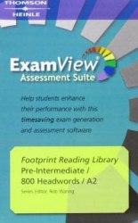 Footprint Reading Library 800 A2 ExamView / Інтерактивний комп'ютерний диск