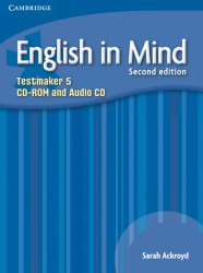 English in Mind 5 (2nd Edition) Testmaker CD-ROM/Audio CD / Диск для встановлення