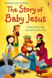 Usborne First Reading 4 The Story of Baby Jesus