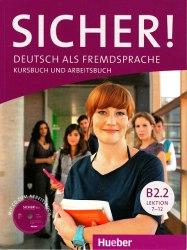 Sicher! B2.2 Kursbuch und Arbeitsbuch mit Audio-CD zum Arbeitsbuch Lektion 7-12 / Підручник для учня з зошитом