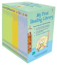 Usborne First Reading 1-2 + VFR My First Reading Library / Набір книг