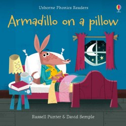 Usborne Phonics Readers Armadillo on a Pillow