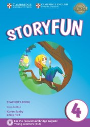 Storyfun 4 (2nd Edition) Movers Teacher's Book with Audio / Підручник для вчителя