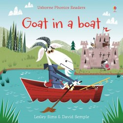 Usborne Phonics Readers Goat in a Boat
