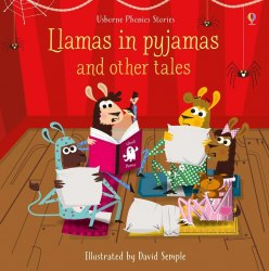Usborne Phonics Readers Llamas in Pyjamas and Other Tales + Audio CD