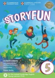 Storyfun 5 (2nd Edition) Flyers Student's Book with Online Activities and Home Fun Booklet / Підручник для учня