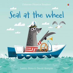 Usborne Phonics Readers Seal at the Wheel