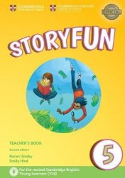 Storyfun 5 (2nd Edition) Flyers Teacher's Book with Audio / Підручник для вчителя
