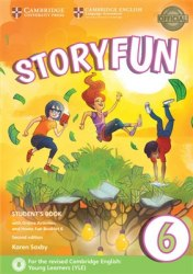 Storyfun 6 (2nd Edition) Flyers Student's Book with Online Activities and Home Fun Booklet / Підручник для учня