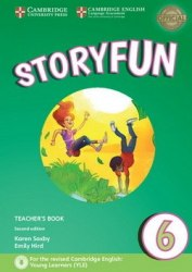 Storyfun Level 6 Teacher's Book with Audio 2nd Edition (Flyers) Cambridge University Press