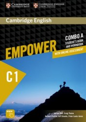 Cambridge English Empower С1 Advanced Combo A Student's Book and Workbook / Підручник + зошит