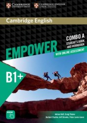Cambridge English Empower B1+ Intermediate Combo A Student's Book and Workbook / Підручник + зошит