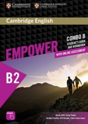 Cambridge English Empower B2 Upper-Intermediate Combo B Student's Book and Workbook / Підручник + зошит