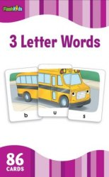 Flash Kids Flashcards: 3 Letter Words / Flash-картки