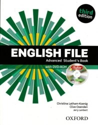 English File (3rd Edition) Advanced Student's Book / iTutor / Підручник для учня