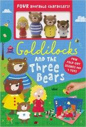 Playhouse: Goldilocks and the Three Bears Boxset / Книга з іграшкою