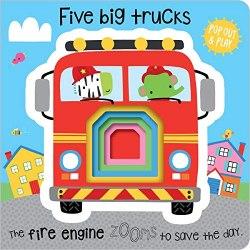 Pop Out and Play: Five Big Trucks / Книга-гра