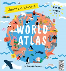 Scratch and Learn World Atlas / Книга з віконцями