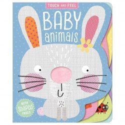 Touch and Feel Baby Animals / Книга з тактильними відчуттями