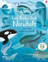 First Sticker Book: Narwhals / Книга з наклейками