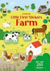 Little First Stickers: Farm / Книга з наклейками