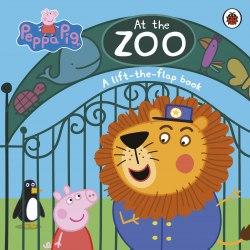 Peppa Pig: At the Zoo / Книга з віконцями