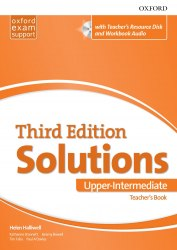 Solutions (3rd Edition) Upper Intermediate Teacher's Book with Teacher's Resource Disc and Workbook Audio / Підручник для вчителя