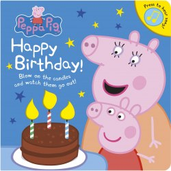 Peppa Pig: Happy Birthday! / Книга зі звуковим ефектом