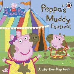 Peppa Pig: Peppa's Muddy Festival / Книга з віконцями