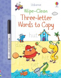 Wipe-Clean: Three-Letter Words to Copy