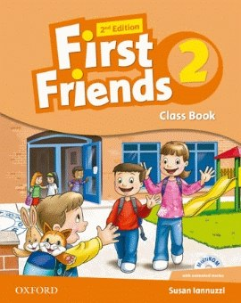 First Friends 2 (2nd Edition) Class Book and MultiROM Pack / Підручник для учня