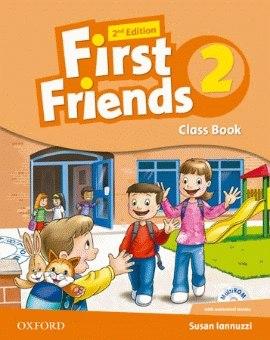 First Friends 2 (2nd Edition) Class Book and MultiROM Pack / Підручник для учня