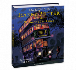 Harry Potter and the Prisoner of Azkaban Illustrated Edition Bloomsbury Children's