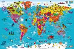 Collins Children's World Map / Карта