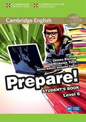 Cambridge English Prepare! 6 Student's Book Cambridge University Press