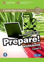 Cambridge English Prepare! 6 Workbook with Downloadable Audio / Робочий зошит
