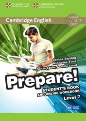 Cambridge English Prepare! 7 Student's Book with Online Workbook / Підручник + онлайн зошит
