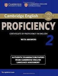 Cambridge English Proficiency 2 Student's Book + key / Підручник для учня