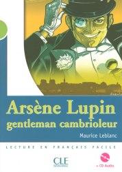 Lectures Mise en Scene 2 Arsene Lupin. Gentlemen cambriol Livre + CD audio