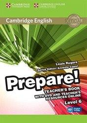 Cambridge English Prepare! 6 Teacher's Book with DVD and Teacher's Resources Online Cambridge University Press