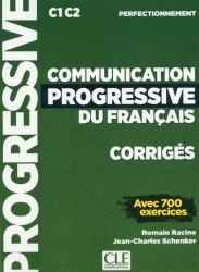 Communication Progressive du Français Perfectionnement Corrigés / Брошура з відповідями