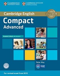 Compact Advanced Student's Book + key + CD-ROM / Підручник для учня