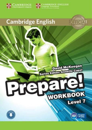 Cambridge English Prepare! 7 Workbook with Downloadable Audio / Робочий зошит