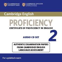 Cambridge English Proficiency 2 Audio CD Set / Аудіо диск