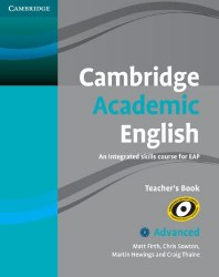 Cambridge Academic English C1 Upper Advanced Teacher's Book / Підручник для вчителя