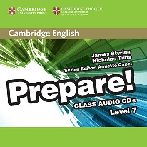 Cambridge English Prepare! 7 Class Audio CDs / Аудіо диск