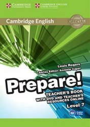 Cambridge English Prepare! 7 Teacher's Book with DVD and Teacher's Resources Online / Підручник для вчителя